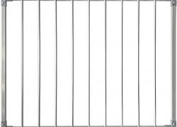 Защитный барьер металлический (стальной) для лестницы универсальный (ворота безопасности входа на лестницу)