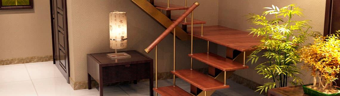 Широкая линейка моделей по сериям и конфигурациям лестницы